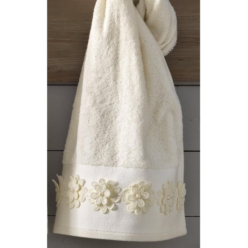 9ce72a2b1a0 Είδη Γάμου :: Νυφικά Σετ Πετσέτες :: Νυφικές Πετσέτες Σετ Palamaiki Cleo -  White Line - Λευκά Είδη